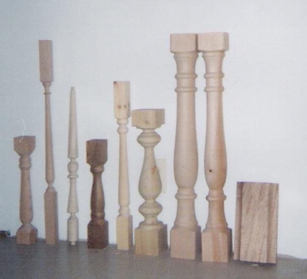 Custom Turnings Wood Turnings Baluster Spindle Column