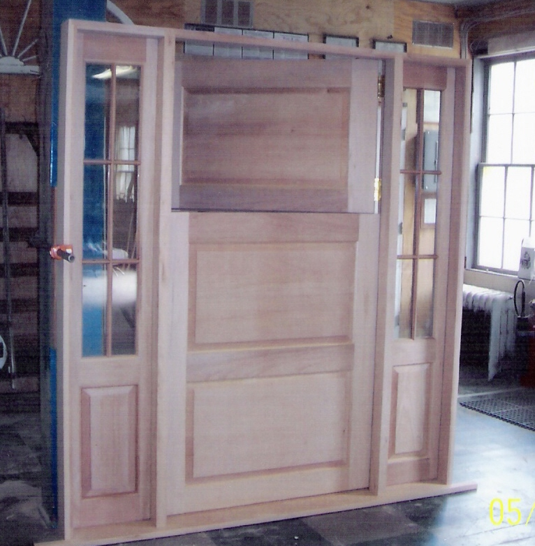 Custom wood doors interior exterior french arch top for Unique exterior french doors