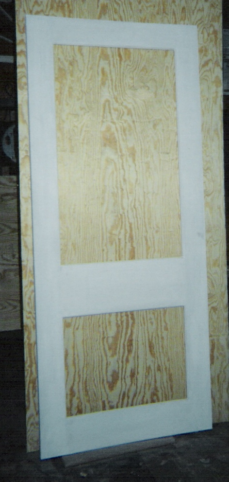 Custom made built wood storm and screen doors traditional for Insulated storm doors