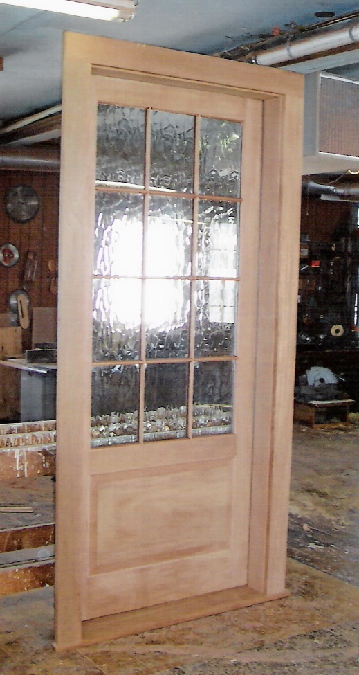 custom built wood exterior doors entryway arch top reproduction traditional historical