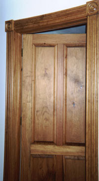 Custom made interior solid wood doors french arch top for Solid wood french doors