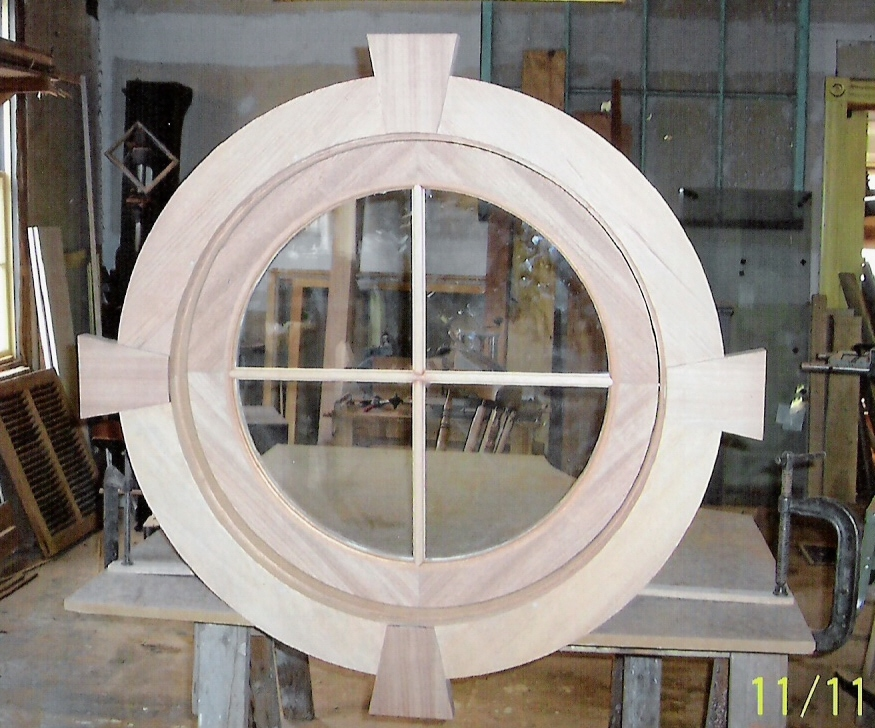 Arch top windows custom built wood sashes traditional Custom design windows